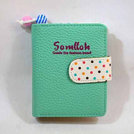 Colourful Polka Dots Wallet: Gifts for Girls in UAE
