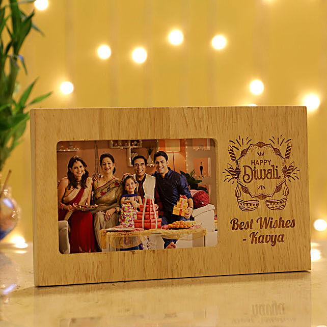 Diwali Personalised Photo Frame: Send Diwali Gifts to Sharjah