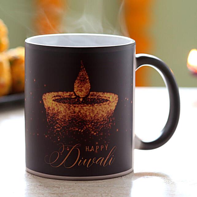 Diwali Wishes Magic Mug: Send Diwali Gifts to Sharjah