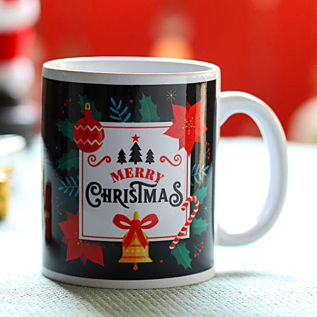 Jolly Christmas Greetings Mug: