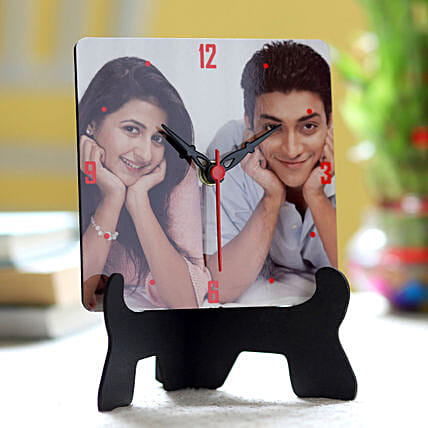 Personalised Picture Table Clock: Personalised Gifts to UAE