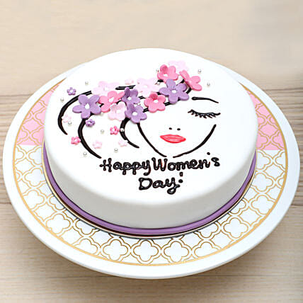 Chocolate Womens Day Cake: Women's Day Gift Delivery in UAE