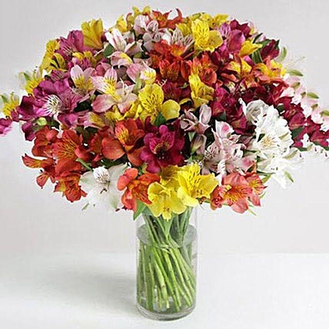 32 British Alstroemeria: Flower Delivery UK
