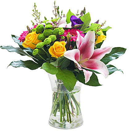 An Elegant Vase: Send Easter Flowers to UK