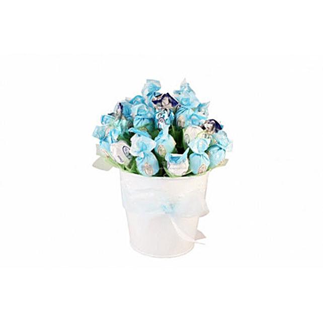 Blue sky sweet bouquet: