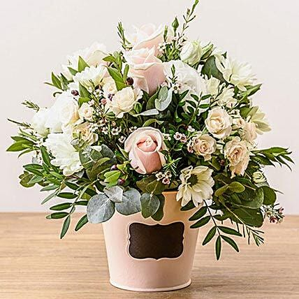 Dawn Arrangement: Sympathy N Funeral Flowers UK