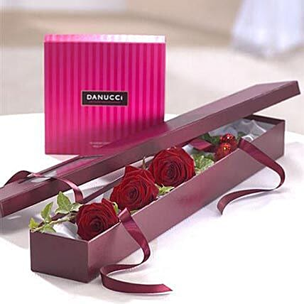 I Love You Chocolate Gift Set: Send Valentines Day Gifts to UK