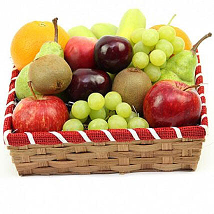 Citrus Punch Fruit Basket: Gift Baskets in London, UK