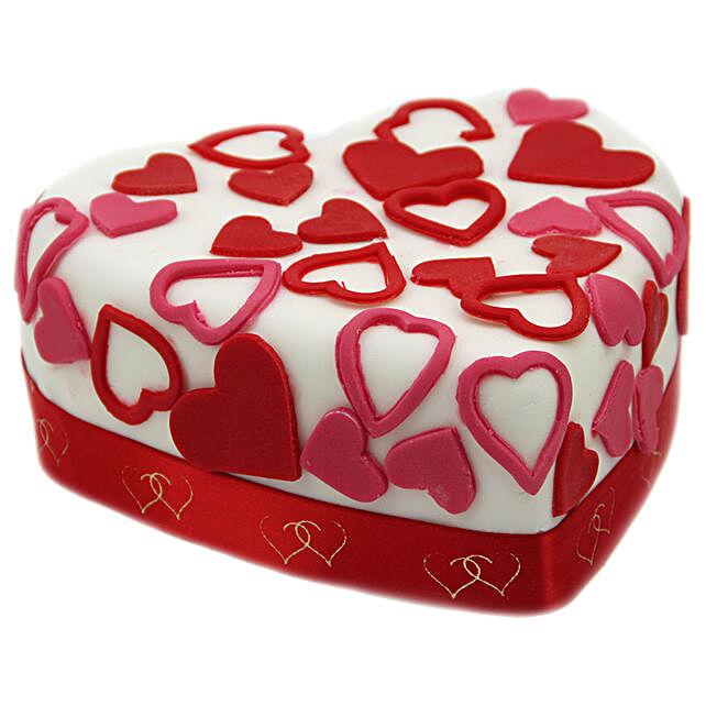Love Tweet Heart Cake: Cake Delivery UK