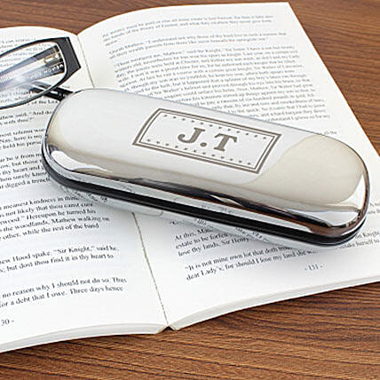 Personalized Monogram Glasses Case: Birthday Gifts for Wife UK