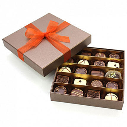 Selected Belgian Chocolates16: Chocolate Delivery in London UK