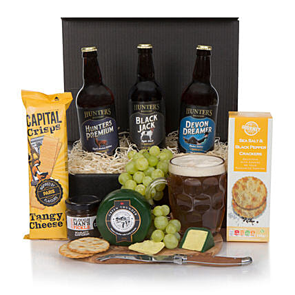 Real Ale Hamper For Him: Send Wine Baskets to UK