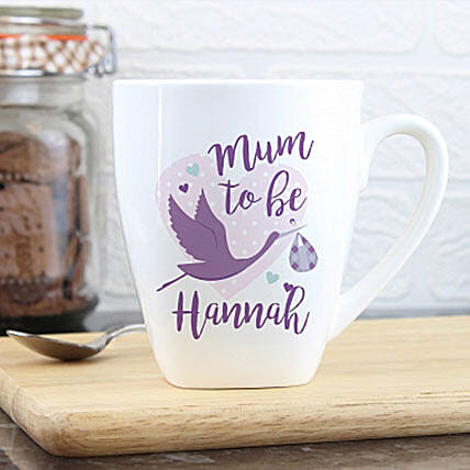 Personalised Mug For Would Be Mom: Gifts to Manchester UK