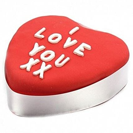 Red Heart Cake: Send Propose Day Gifts to UK