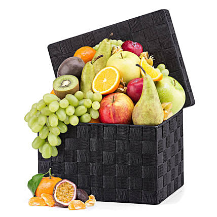 Seasonal Fruit Hamper: Send Grandparents Day Gifts to UK