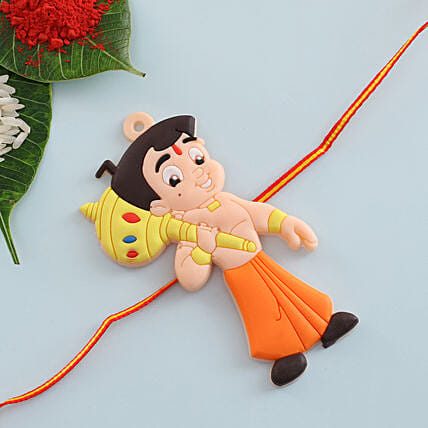 Chota Bheem Kids Rakhi: Rakhi for Kids to UK