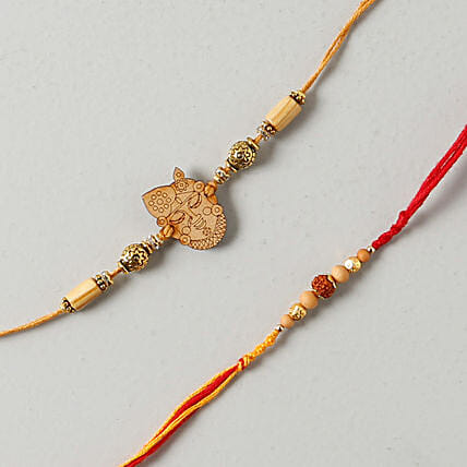 Krishan Rakhi Set: Rakhi to Nottingham