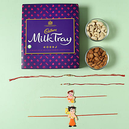 Milk Tray Rakhi Chocolates Hamper: