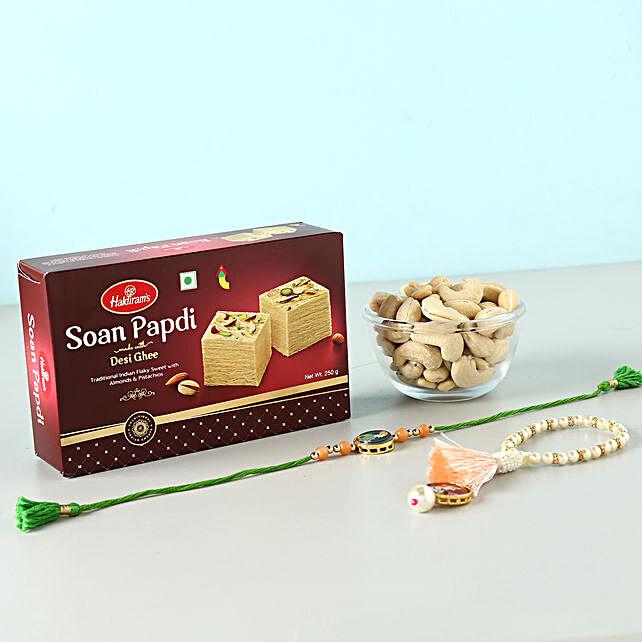 Festive Sweet Mood For Rakhi: Rakhi With Dryfruits UK