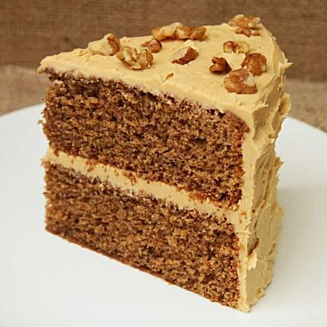 Coffee And Walnut Cake: Christmas Cakes to UK