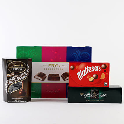Delicious Chocolate Hamper: Gift Discount for UK