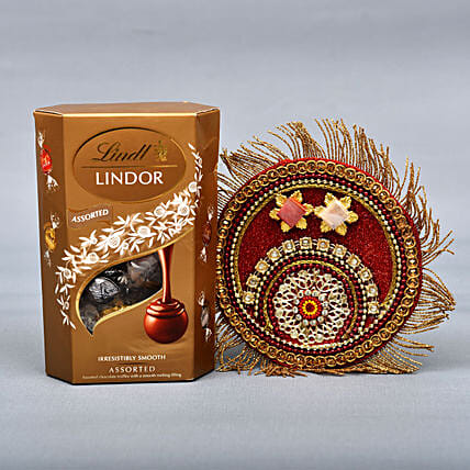 Lindt And Puja Thali Combo: Send Bhai Dooj Gifts to London