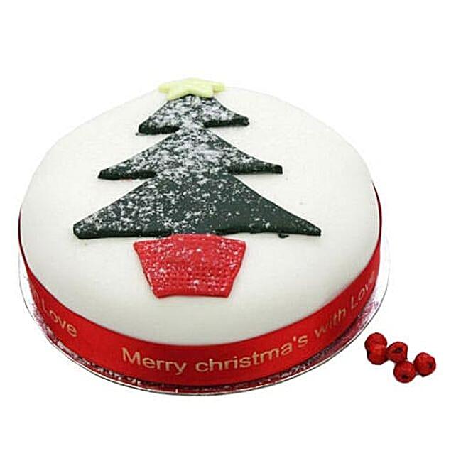 Christmas Tree Fruit Cake: Send Christmas Gifts to UK