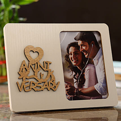 Personalised Anniversary Wishes Photo Frame: New Arrival Gifts UK