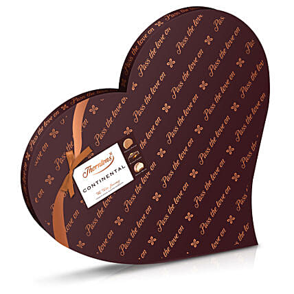 Continental Heart Box 530g: Valentine's Day Gift Delivery in UK