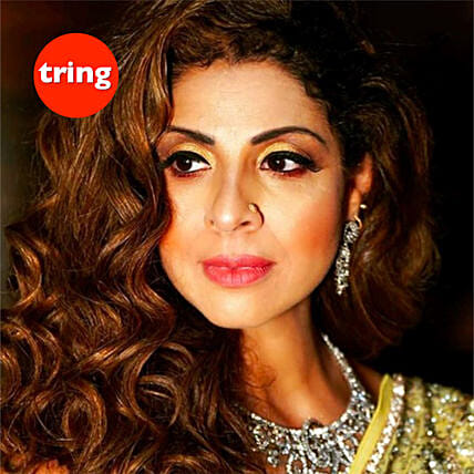 Personalised Recorded Video Message Tanaaz Irani: Send Anniversary Gifts to UK