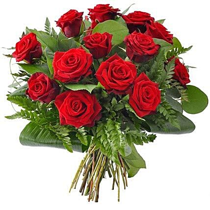 12 Red Roses: Gifts for Her in USA
