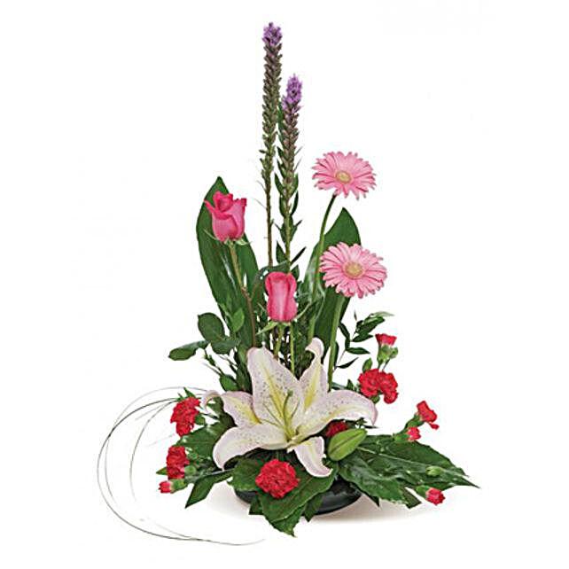 Bon Vivant: Mixed Flowers in USA