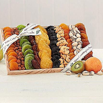 Gourmet Dried Fruit and Nut Collection: Send Fathers Day Gifts to USA