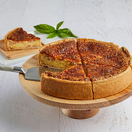 Lorraine Quiche: New Year Cakes to USA