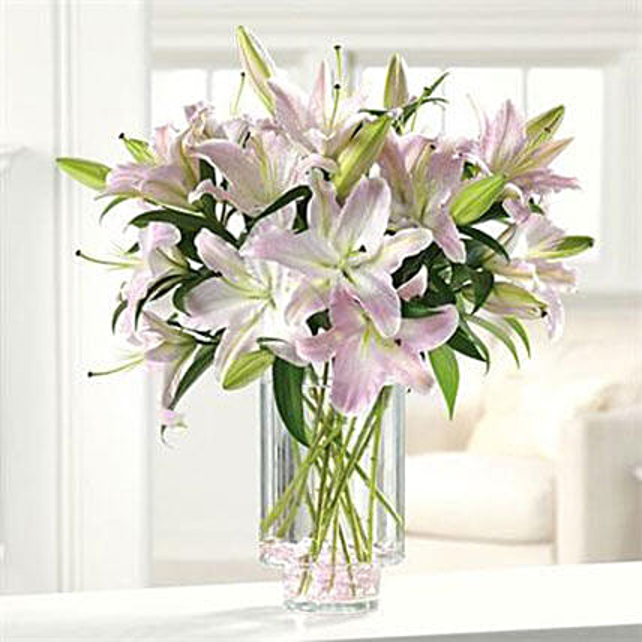 Ooh La La Lilies: Miss You Flowers to USA