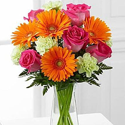 Pure Bliss: New Year Flowers to USA