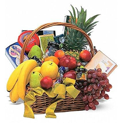Sumptuous Gift Basket: Mother's Day Basket Delivery in US