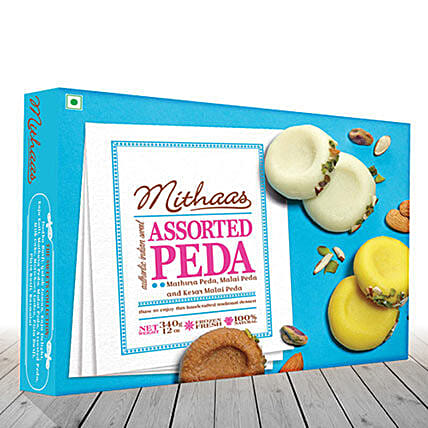 Assosrted Peda 340 Grams: Send Sweets to USA