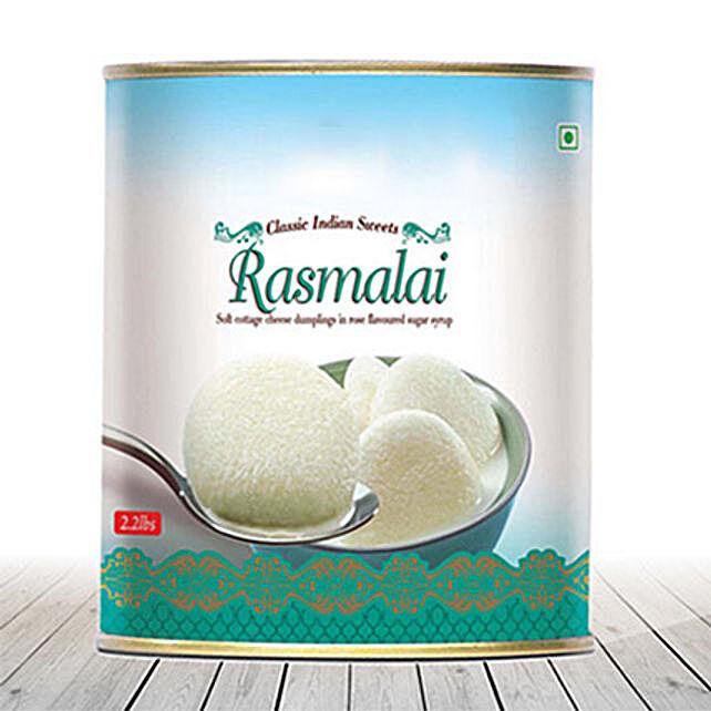 Rasmalai 1Kg: USA Sweets