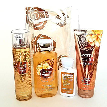 Bath And Body Works A Thousand Wishes Gift Set: Rakhi Gifts for Sister in USA