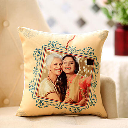 Framed In Cushion: Personalised Gifts Delivery to USA