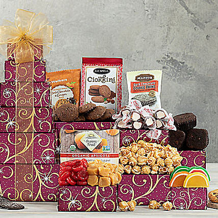 Chocolate and Sweets Tower: Father's Day Gifts USA