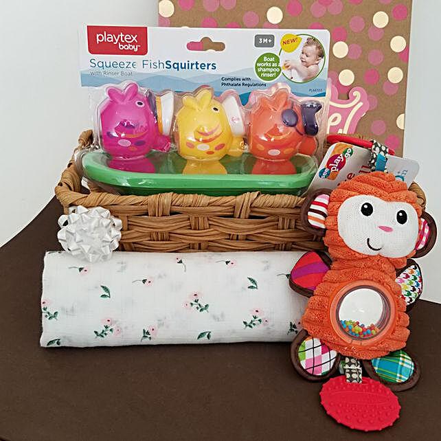 Its Playtime Baby Girl Gift Set: