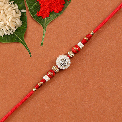 Gorgeous Beads Rakhi: Send Rakhi to USA