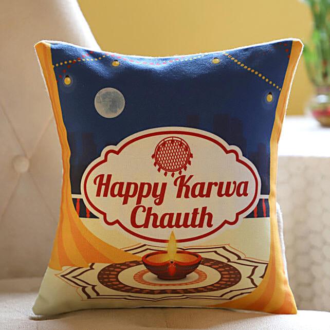 Festival Special Cushion Karwa Chauth: Send Karwa Chauth Gifts to USA