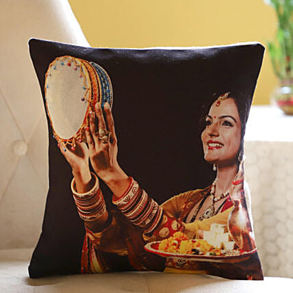 Personalised Cushion For Gorgeous Wife: Gift Delivery for Her in USA