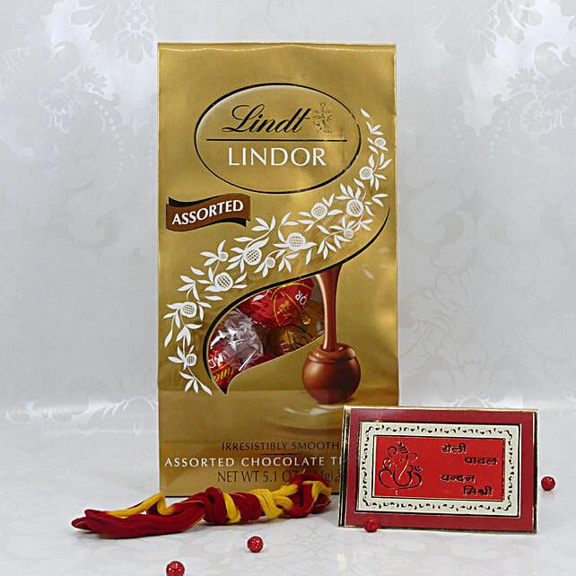 Lindt Assorted Chocolates For Bhai Dooj: Send Bhai-Dooj Chocolates to USA