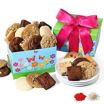 Sugar Overload For Sweet Sis: Bhai Dooj Gift Delivery in USA