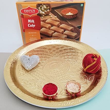 Milk Cake For Bhai Dooj: