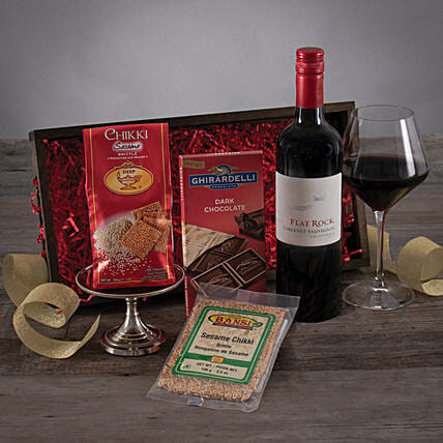 Flat Rock Cabernet Treat: Diwali Gifts to San Francisco